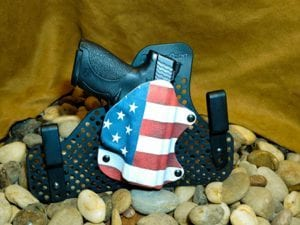 Redline Holsters Half shell holster and ultimate backer